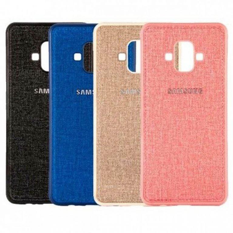 قاب محافظ طرح پارچه ای Protective Cover Samsung Galaxy J7 Duo