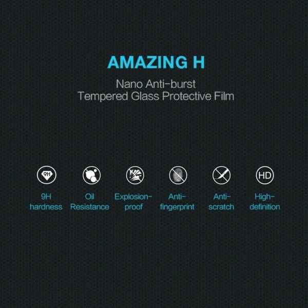 محافظ صفحه نمایش شیشه ای نیلکین Nillkin H Glass Meizu M6 Note
