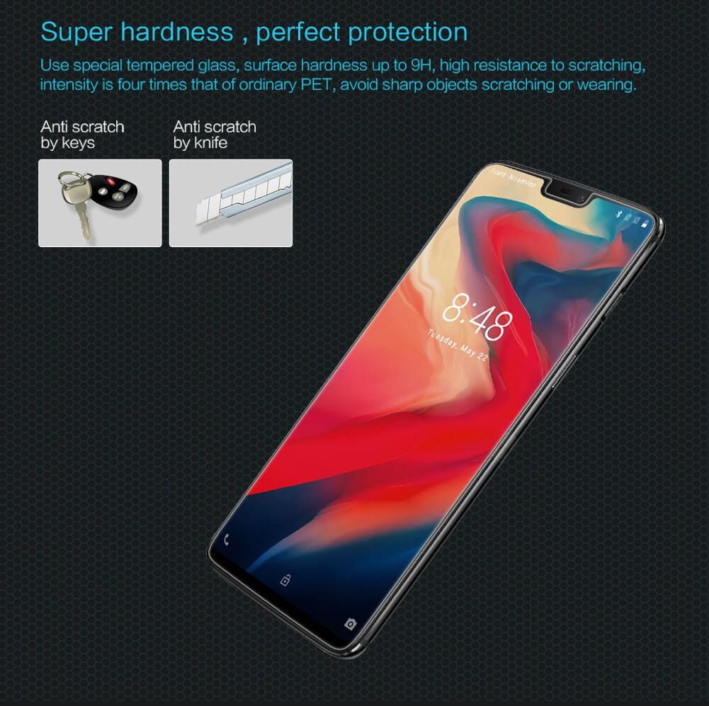 محافظ صفحه نمایش شیشه ای نیلکین Nillkin H Glass Oneplus 6