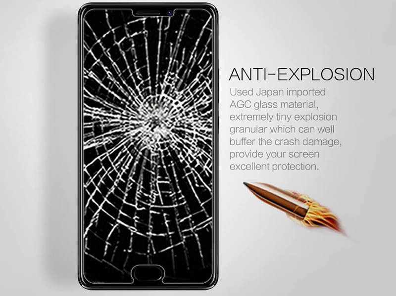 محافظ صفحه نمایش شیشه ای نیلکین میزو Nillkin H+ Pro Glass Meizu Pro 7 Plus