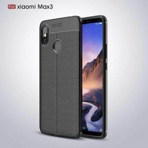 قاب ژله ای طرح چرم Auto Focus Jelly Case Xiaomi Mi Max 3