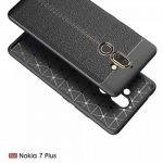 قاب ژله ای طرح چرم Auto Focus Jelly Case Nokia 7 plus