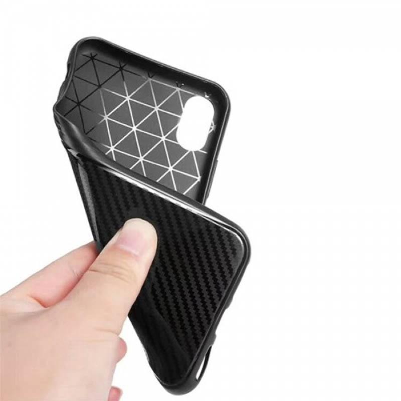 قاب ژله ای طرح چرم Auto Focus Jelly Case Xiaomi Mi 8