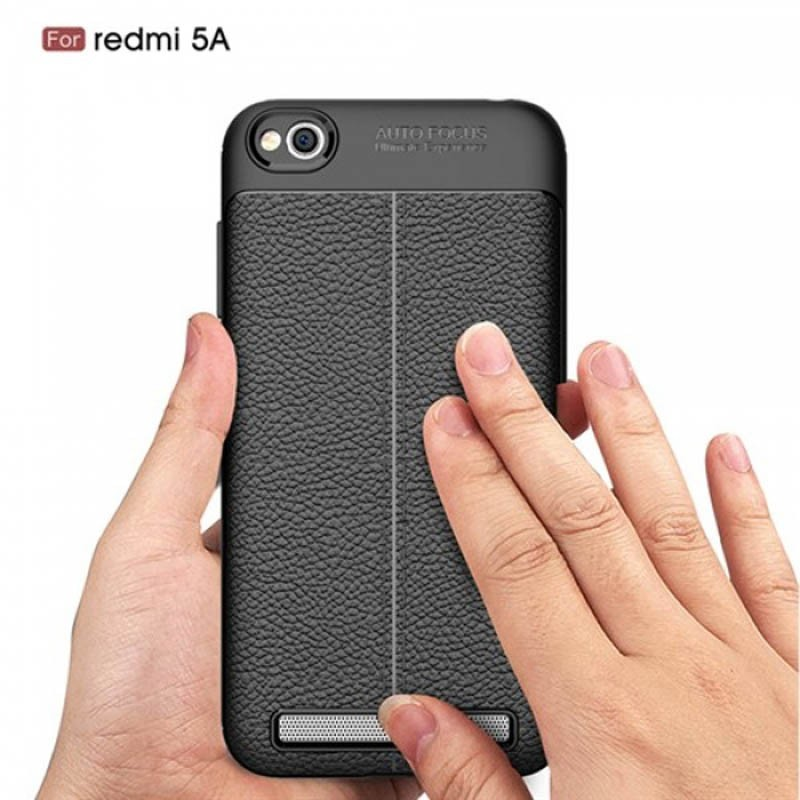 قاب ژله ای طرح چرم Auto Focus Jelly Case Xiaomi Redmi 5a