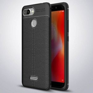 قاب ژله ای طرح چرم Auto Focus Jelly Case Xiaomi Redmi 6