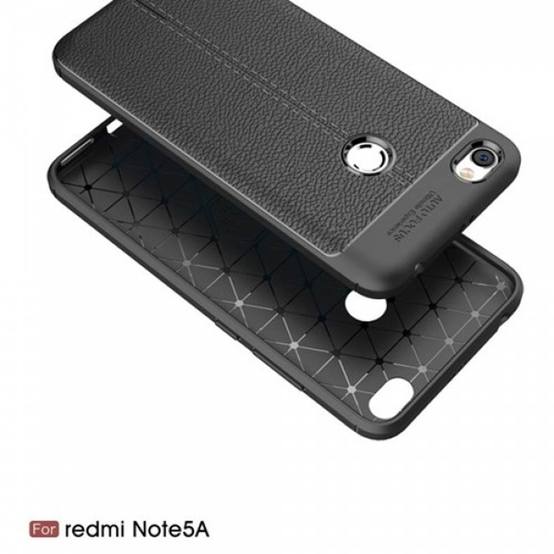 قاب ژله ای طرح چرم Auto Focus Jelly Case Xiaomi Redmi Note 5A