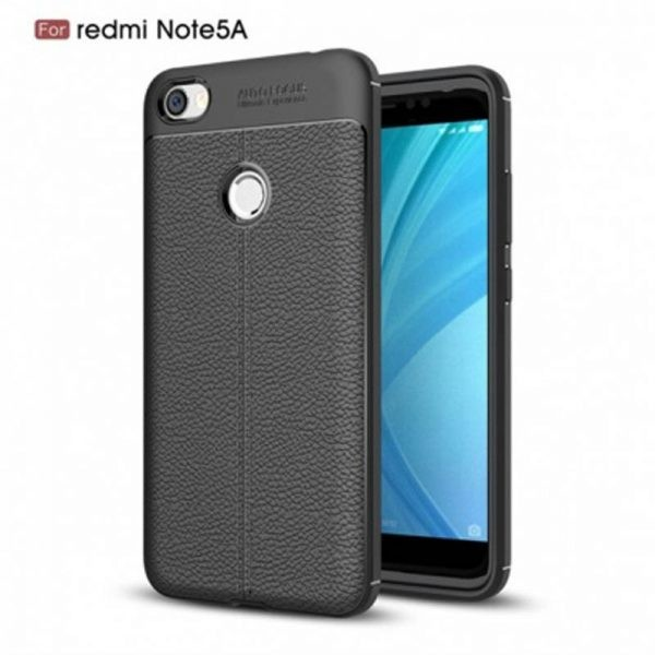 قاب ژله ای طرح چرم Auto Focus Jelly Case Xiaomi Redmi Note 5A