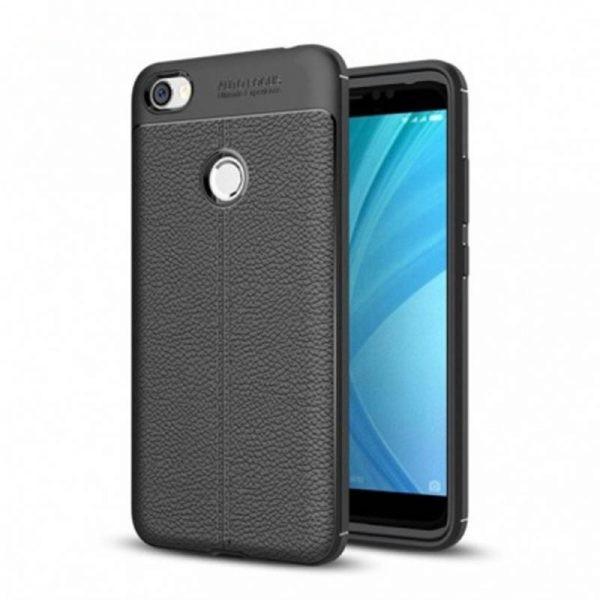 قاب ژله ای طرح چرم Auto Focus Jelly Case Xiaomi Redmi Note 5A/Note 5A Prime