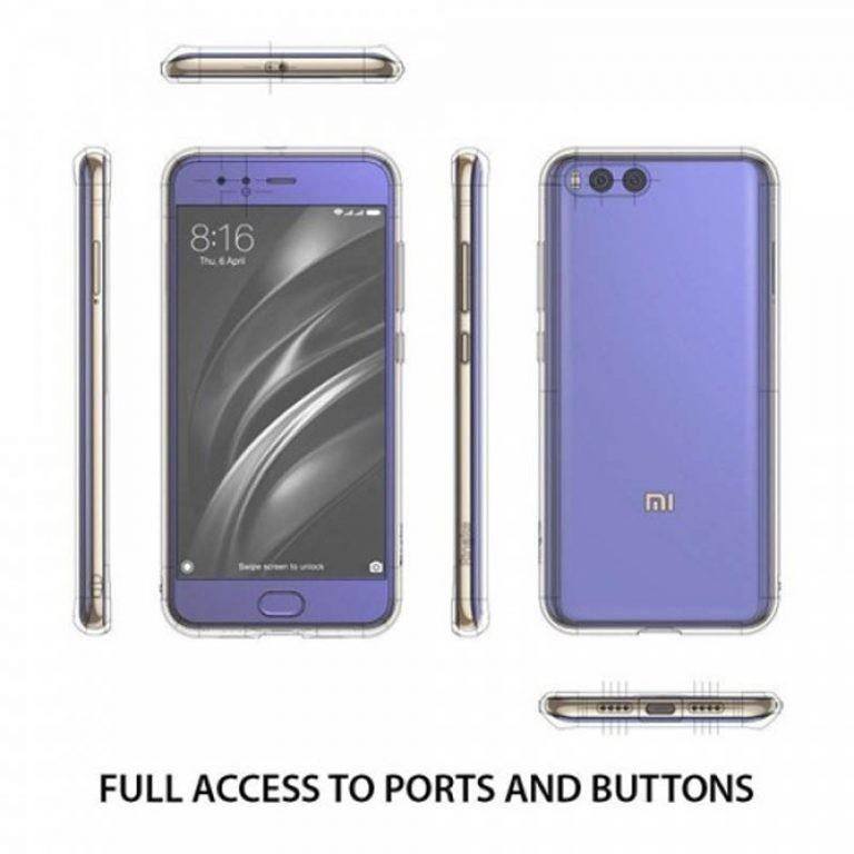 قاب محافظ شیشه ای- ژله ای برای Xiaomi Mi Note 3