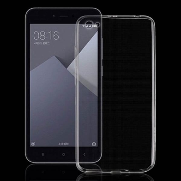 قاب محافظ شیشه ای- ژله ای برای Xiaomi Redmi Note 5A