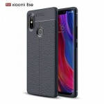 قاب ژله ای طرح چرم Auto Focus Jelly Case Xiaomi Mi 8 SE