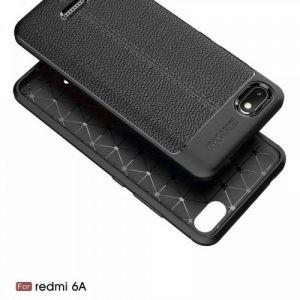 قاب ژله ای طرح چرم Auto Focus Jelly Case Xiaomi Redmi 6A