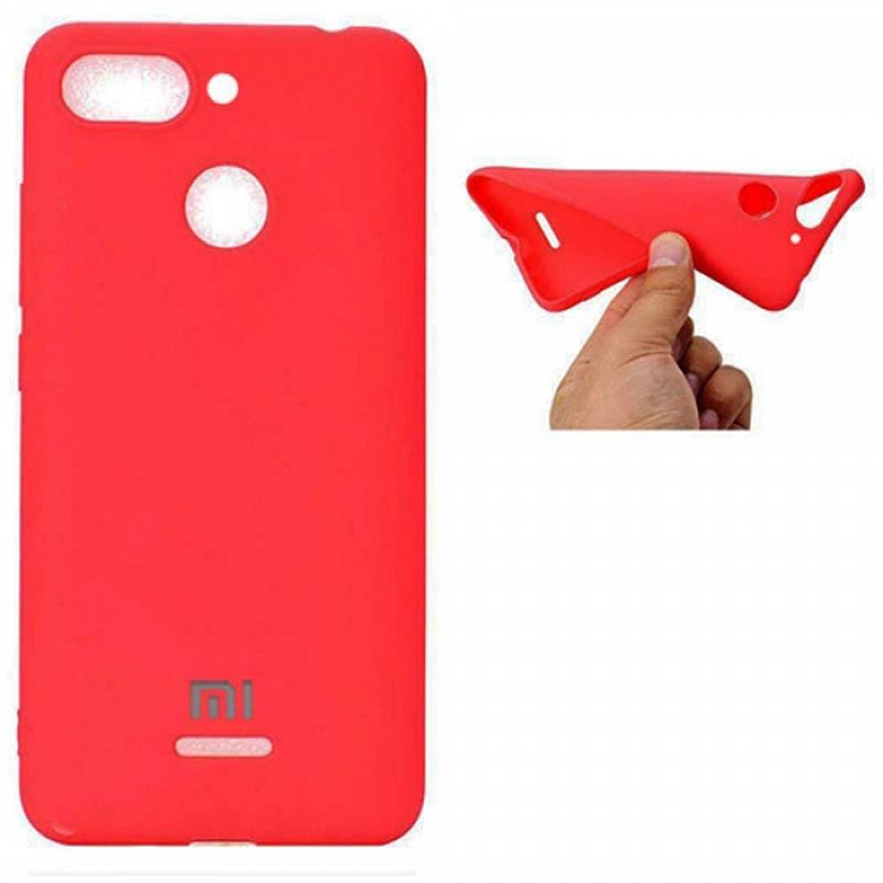 قاب محافظ سیلیکونی Silicone Cover Xiaomi Redmi 6