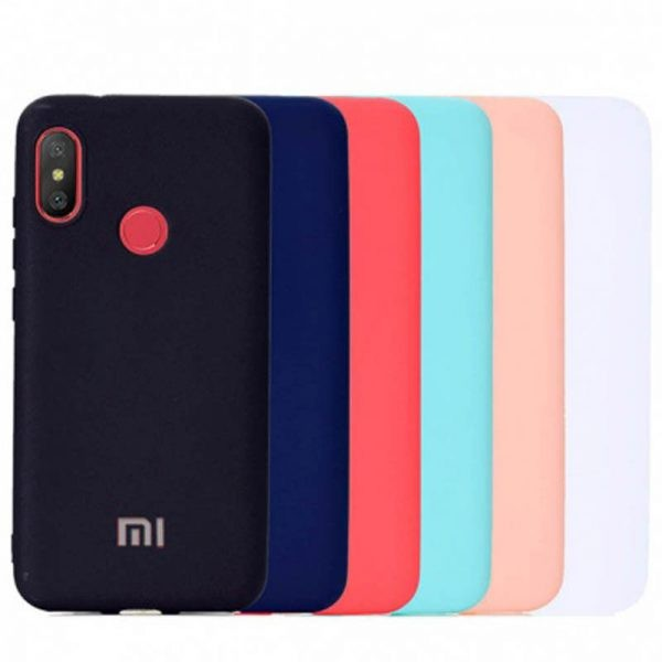 قاب محافظ سیلیکونی Silicone Cover xiaomi Mi A2 Lite / Redmi 6 Pro