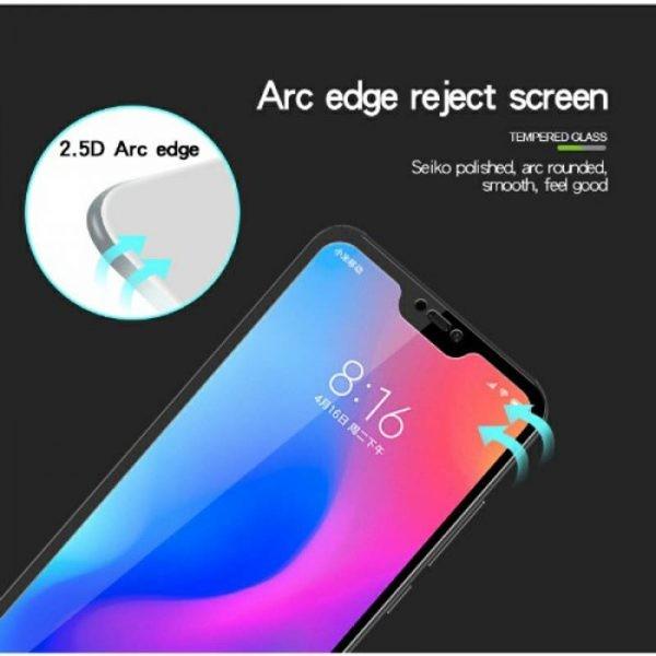 محافظ صفحه نمایش تمام چسب با پوشش کامل Xiaomi Mi A2 Lite/Redmi 6 Pro