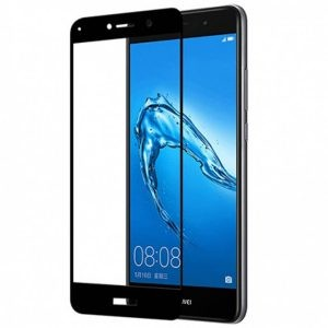گلس تمام چسب با پوشش کامل Huawei Y7 Prime