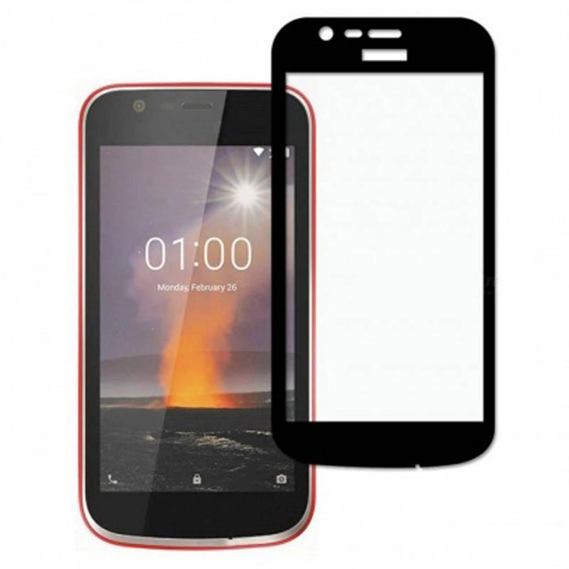 محافظ صفحه نمایش تمام چسب با پوشش کامل Nokia 1