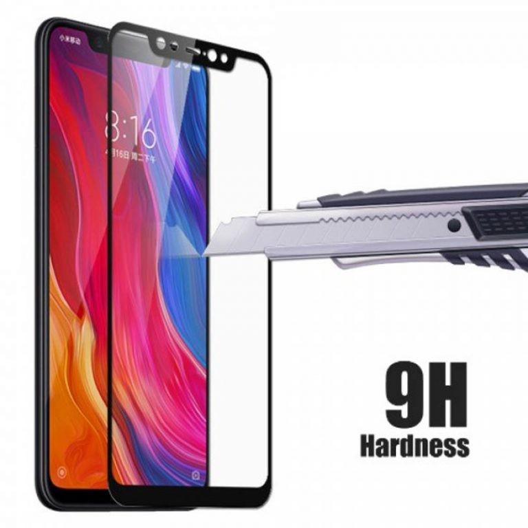 محافظ صفحه نمایش تمام چسب با پوشش کامل Xiaomi Mi 8