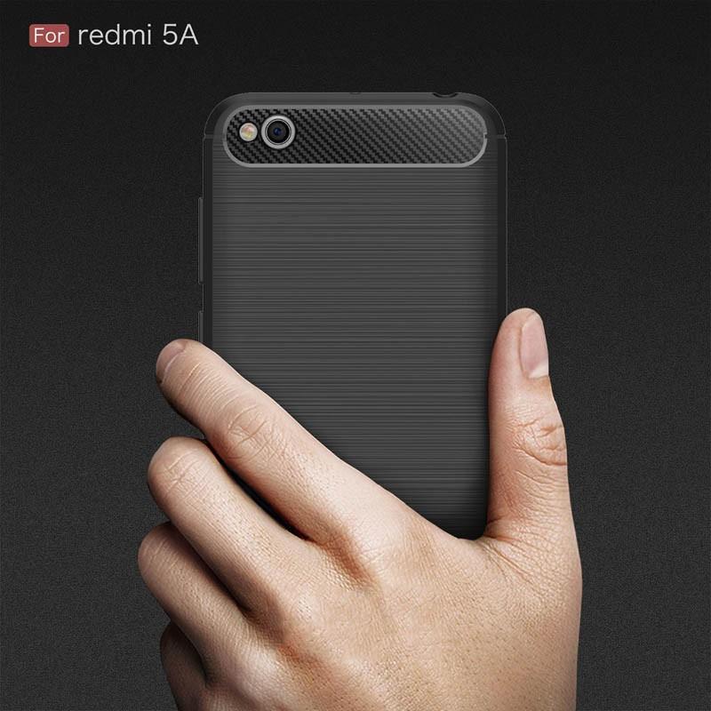 قاب محافظ ژله ای شیائومی Carbon Fibre Case Xiaomi Xiaomi Redmi 5a
