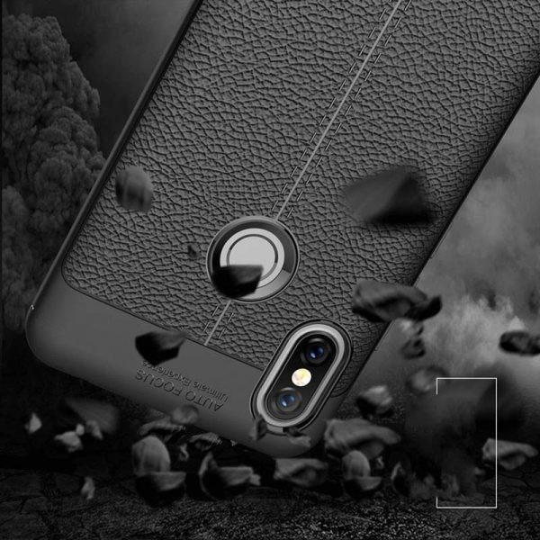 قاب ژله ای طرح چرم Auto Focus Jelly Case Xiaomi Redmi S2 / Redmi Y2