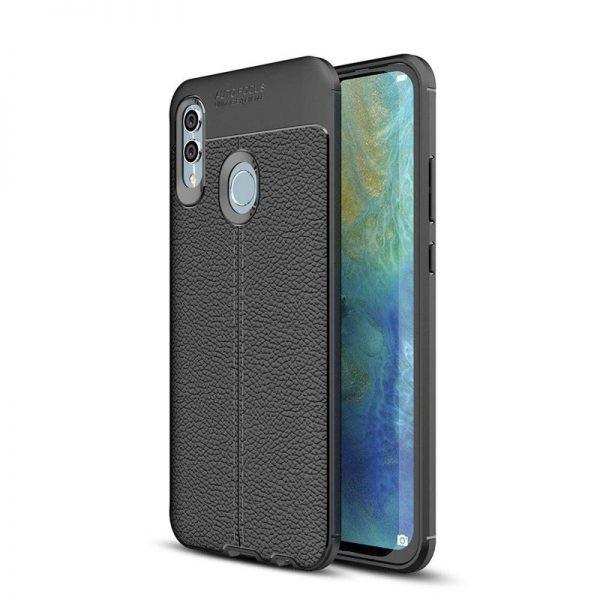قاب ژله ای طرح چرم Auto Focus Jelly Case Huawei Honor 10 Lite