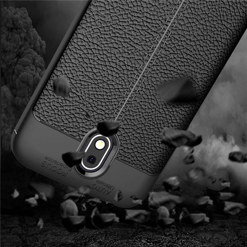 قاب ژله ای طرح چرم Auto Focus Jelly Case Nokia 1