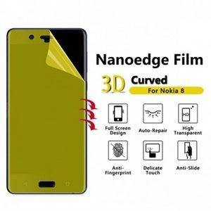 برچسب محافظ صفحه نمایش با پوشش کامل تمام چسب Nokia 8