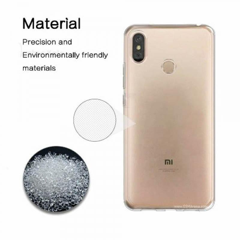 قاب محافظ شیشه ای- ژله ای برای Xiaomi Mi Max 3