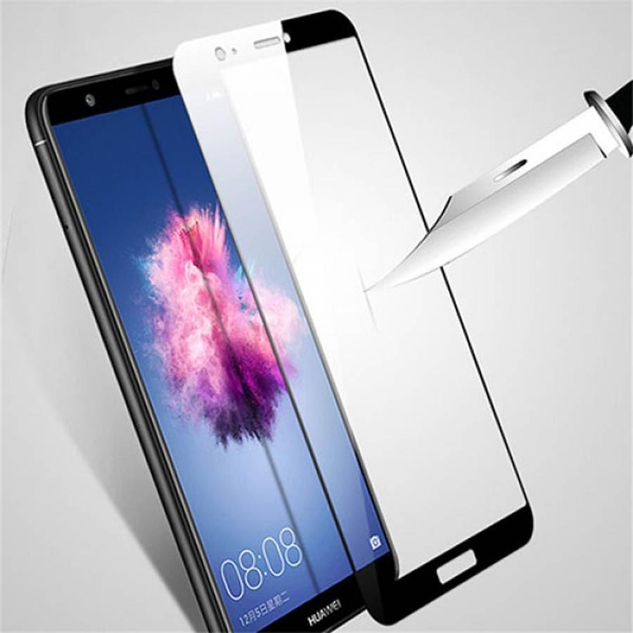 گلس تمام چسب با پوشش کامل Huawei P Smart / Enjoy 7s