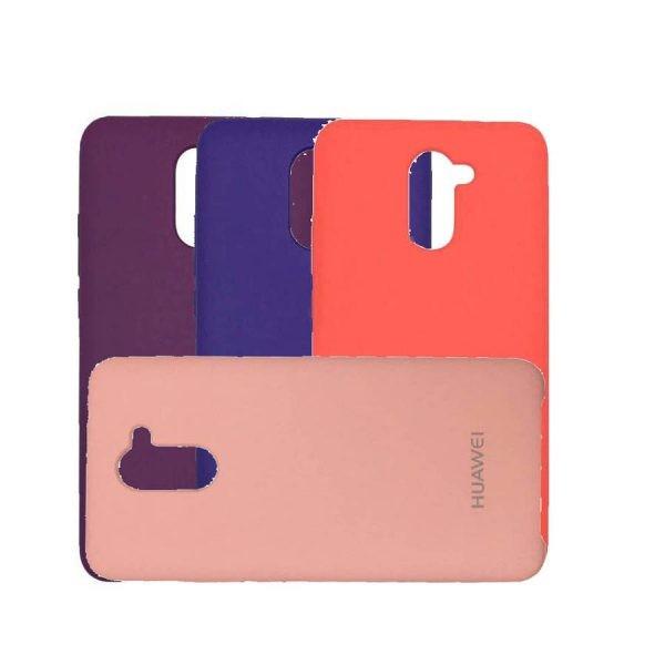 قاب محافظ رنگی سیلیکونی Silicone Cover Huawei Y7 Prime
