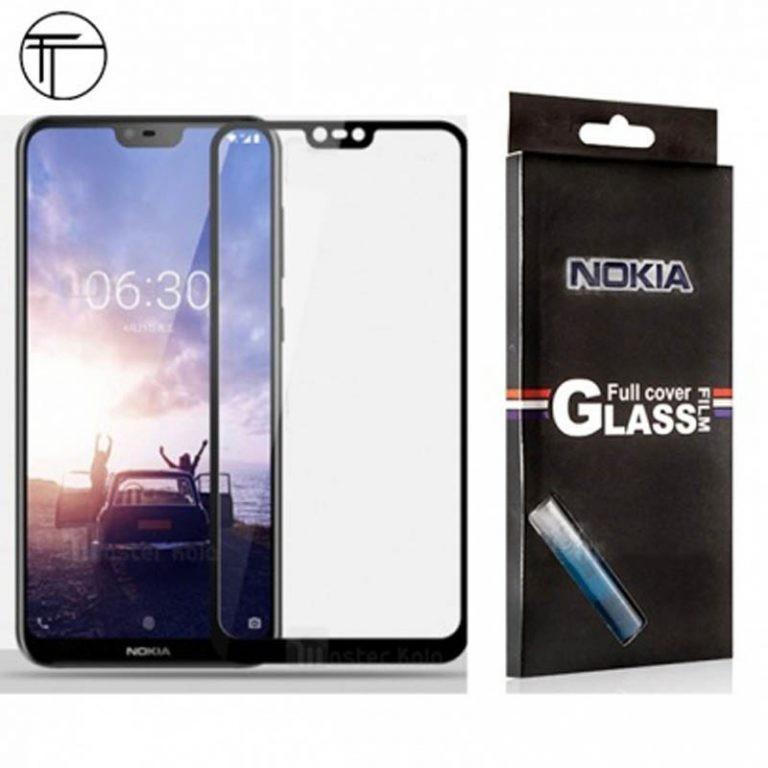 محافظ صفحه نمایش تمام چسب با پوشش کامل Nokia x6