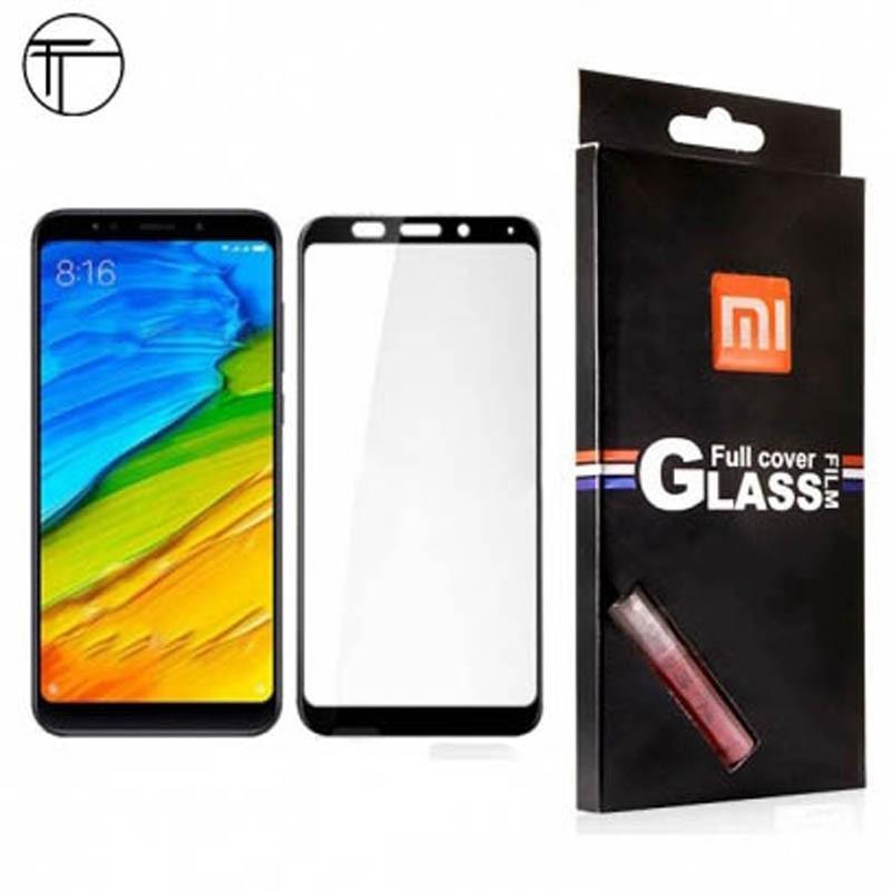 محافظ صفحه نمایش شیشه ای تمام صفحه دور چسب 3D Glass برای Xiaomi Redmi 5 Plus / Note 5