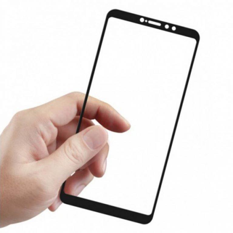 محافظ صفحه نمایش شیشه ای تمام صفحه دور چسب 3D Glass برای Xiaomi Mi Max 3