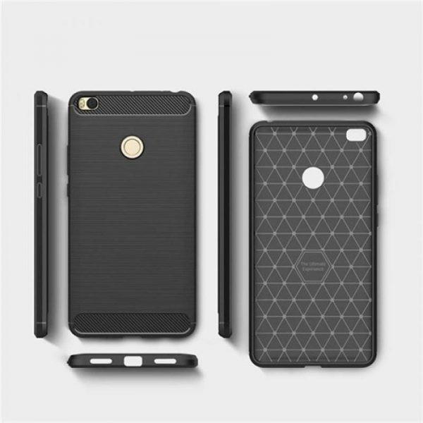 قاب محافظ ژله ای شیائومی Carbon Fibre Case  Xiaomi Mi Max 2