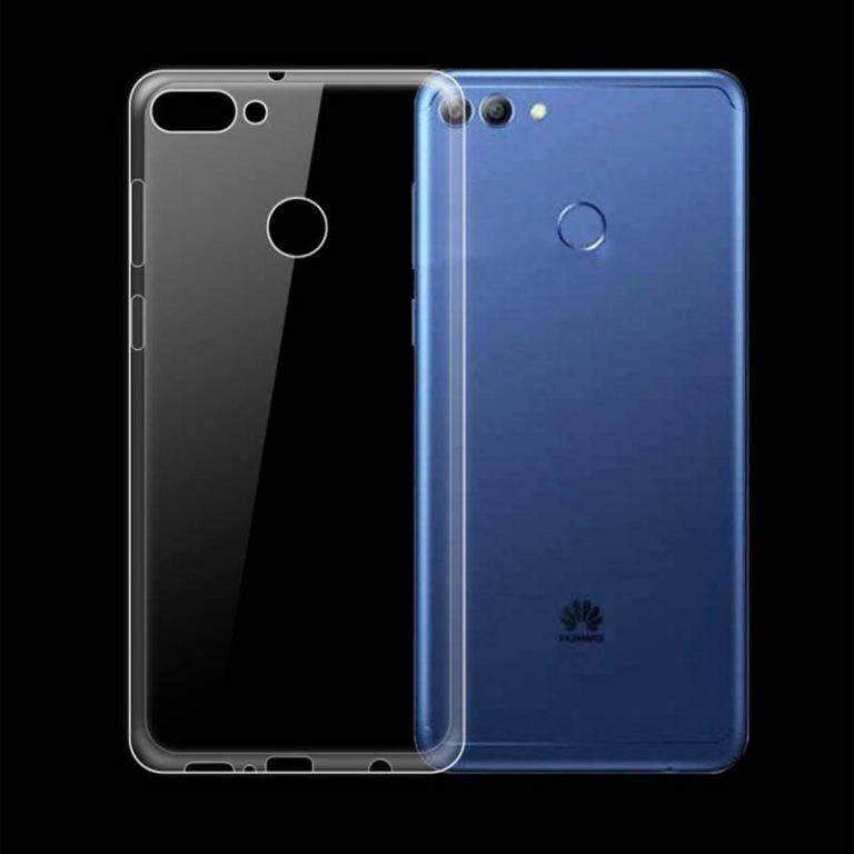 قاب محافظ شیشه ای- ژله ای برای Huawei Y9 2018