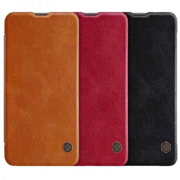 کیف چرمی نیلکین سامسونگ Nillkin Qin Leather Case Samsung Galaxy A8 Star / A9 Star