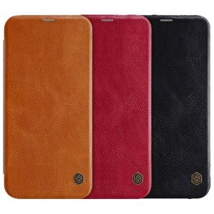 کیف چرمی نیلکین سامسونگ Nillkin Qin Leather Case Samsung Galaxy J4 Core