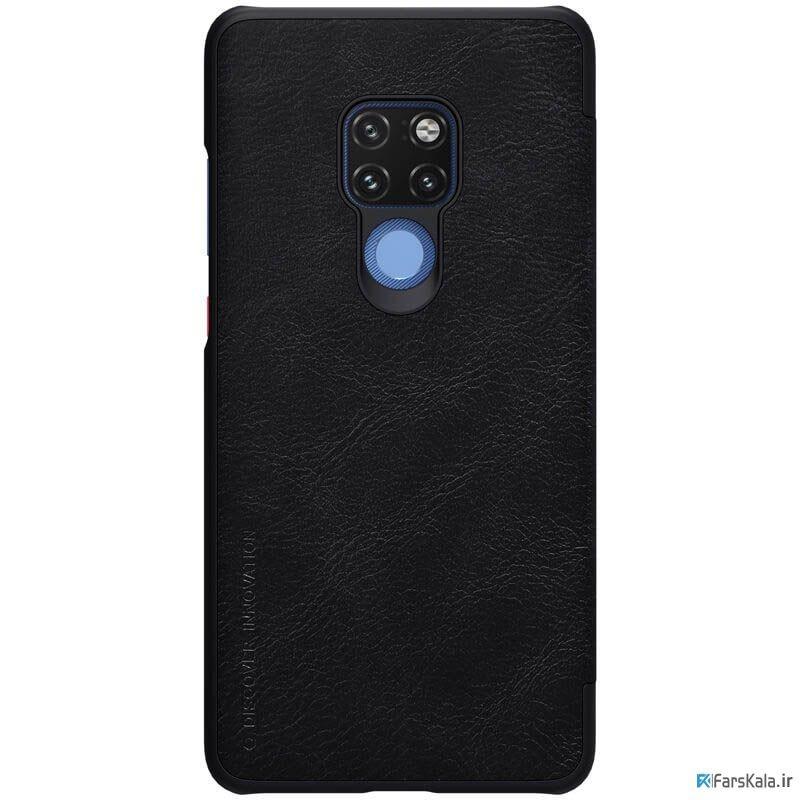 کیف چرمی نیلکین Nillkin Qin Leather Case Huawei Mate 20