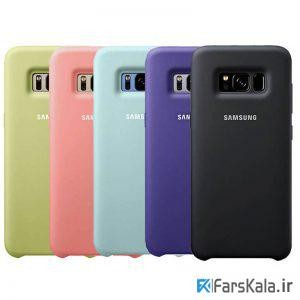 قاب محافظ سیلیکونی Silicone Cover Samsung Galaxy S8