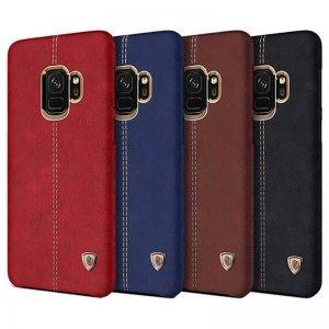 قاب محافظ چرمی نیلکین Nillkin Englon Samsung Galaxy S9