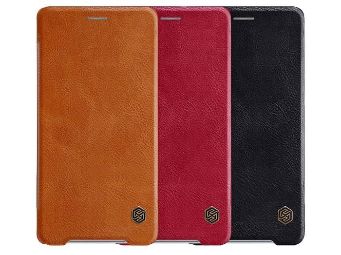 کیف چرمی نیلکین سونی Nillkin Qin Leather Case Sony Xperia XZ2 Premium