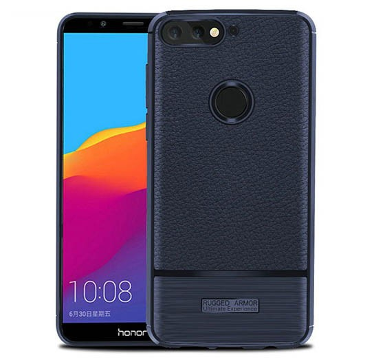 قاب ژله ای طرح چرم هواوی Becation Ruged Armor Soft Case Huawei Y7 Prime 2018/Nova 2 Lite