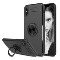 قاب محافظ ژله ای Magnetic Ring Case Apple iPhone Xs Max