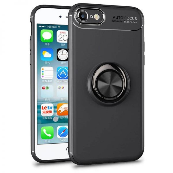 قاب محافظ ژله ای Magnetic Ring Case Apple iphone 6s