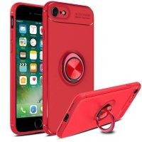 قاب محافظ ژله ای Magnetic Ring Case Apple iPhone 8