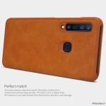 کیف چرمی نیلکین سامسونگ Nillkin Qin Leather Case Samsung Galaxy A9s, A9 Star Pro, A9 2018