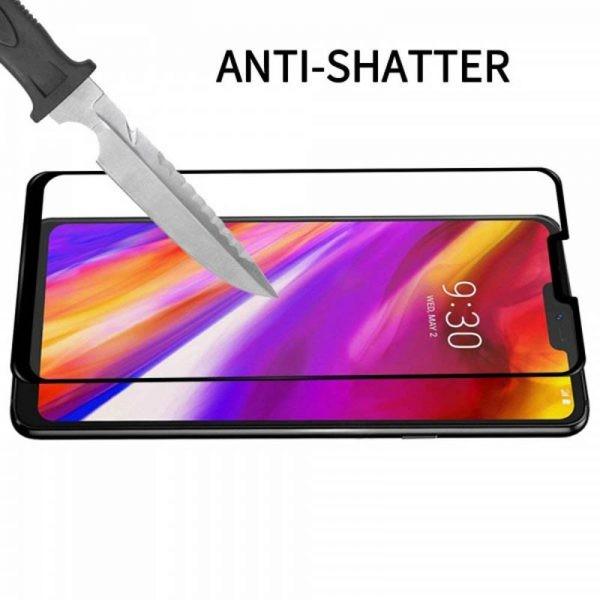 محافظ صفحه نمایش شیشه ای تمام صفحه Remo 3D Glass LG G7 ThinQ