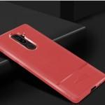 قاب ژله ای طرح چرم نوکیا Becation Ruged Armor Soft Case Nokia 7 Plus
