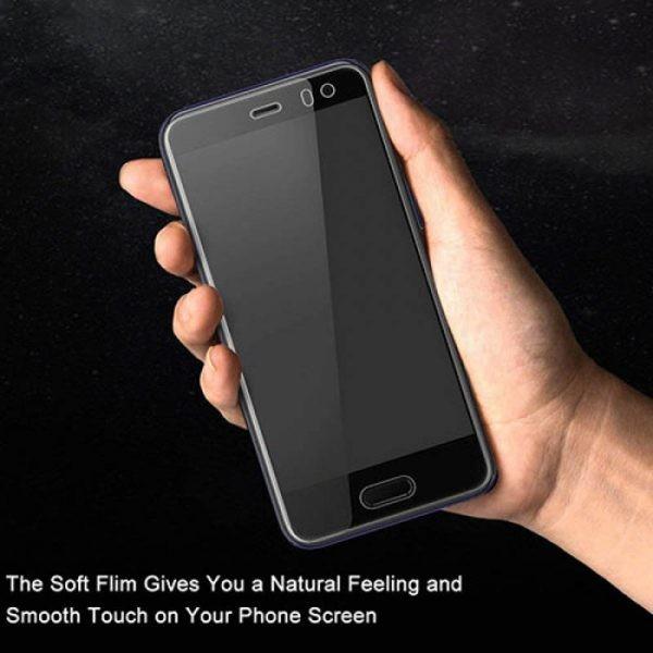 برچسب محافظ صفحه نمایش با پوشش کامل تمام چسب HTC U11 Life