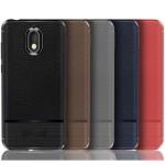قاب ژله ای طرح چرم نوکیا Becation Ruged Armor Soft Case Nokia 3.1